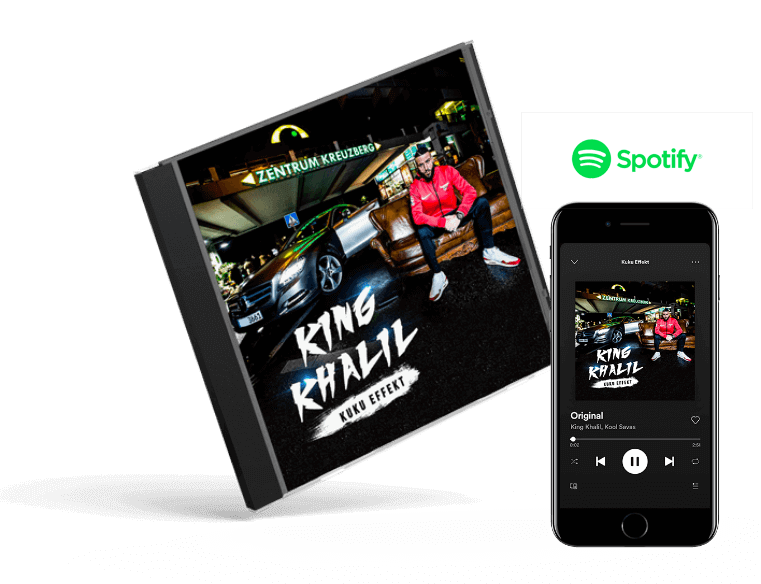 King Khalil - Cover & Premium Box Design