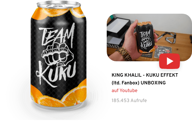 Team Kuku - King Khalil Box Inhalt Design